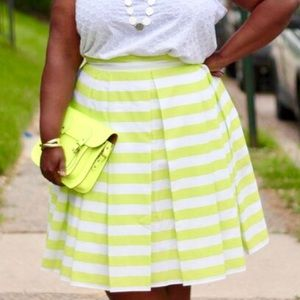 Dresses & Skirts - Stripe Midi Skirt